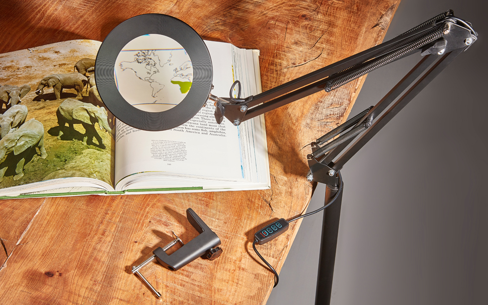 Multiway LED Magnifying Lamp