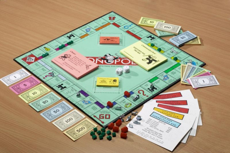 Braille and Large Print Monopoly