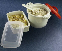 Microwave food container & Rice cooker