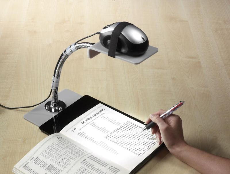 Magnifier Mouse Stand