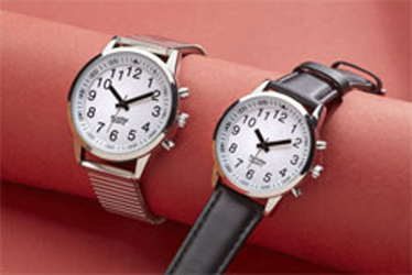 W31 Gents/Ladies Talking Touch Watch With Calendar Function